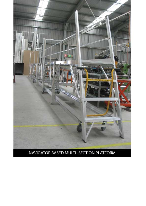Custom Manufacturing Service - Navigator based Multi-Section Platform