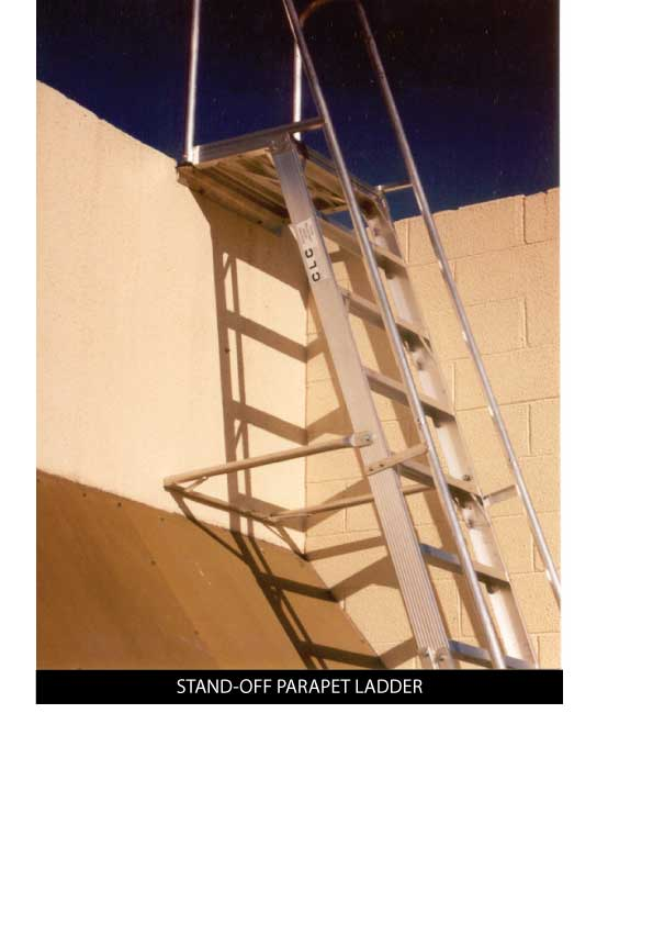 Custom Manufacturing Service - Stand-off Parapet Ladder