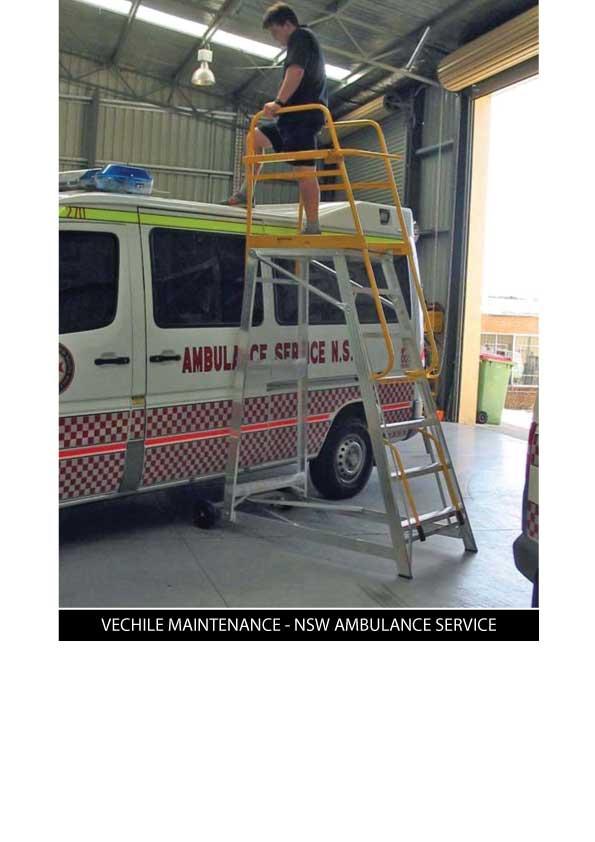 Custom Manufacturing Service - Vehicle Maintenance - NSW Ambulance Service